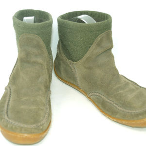 Columbia ZD Women's Winter Suede Slip On Boots